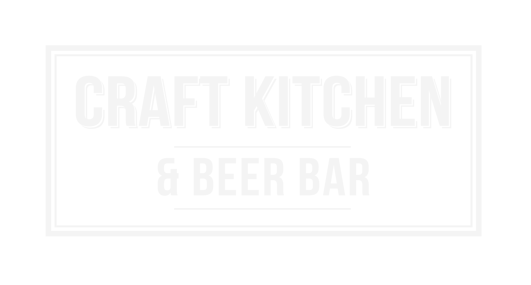 Craft Kitchen + Beer Bar
